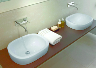 Solid surface sinks and bowls for Avonite sinks